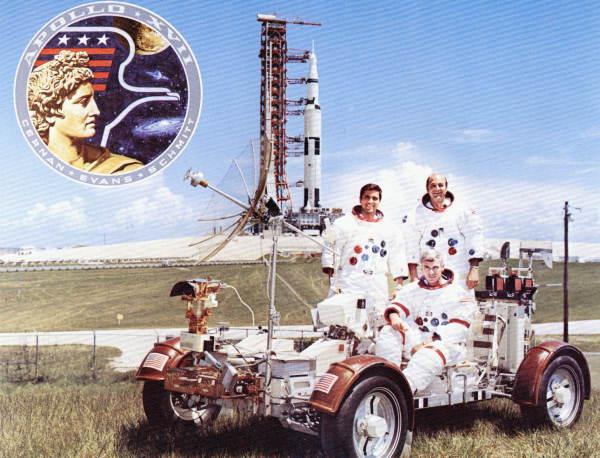 Apollo 17 crew members