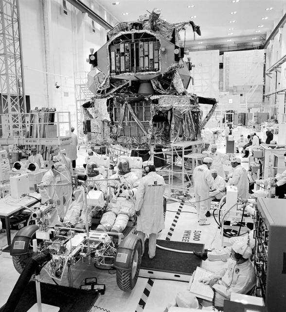 Apollo 17 Flight Hardware Checkout