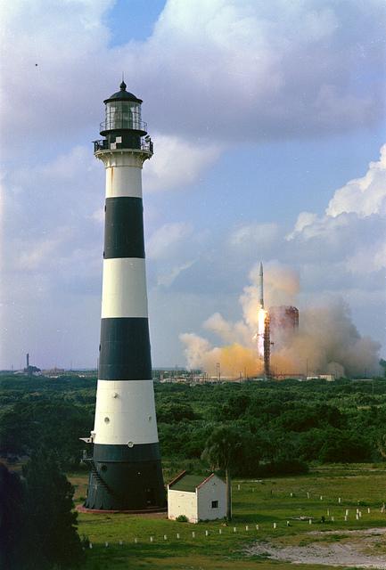 Intelsat IV-F5 Launch