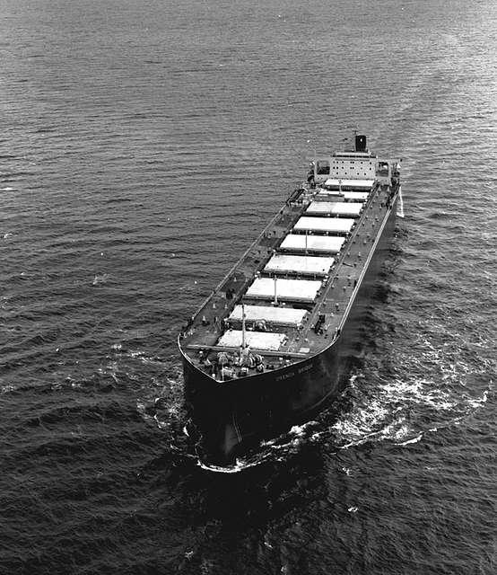 'Orenda Bridge' on sea trials