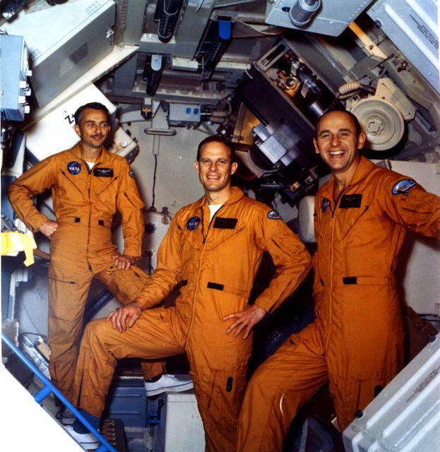 Skylab 3 Astronauts Posing