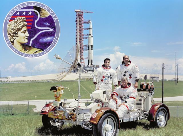 The Apollo 17 Prime Crew
