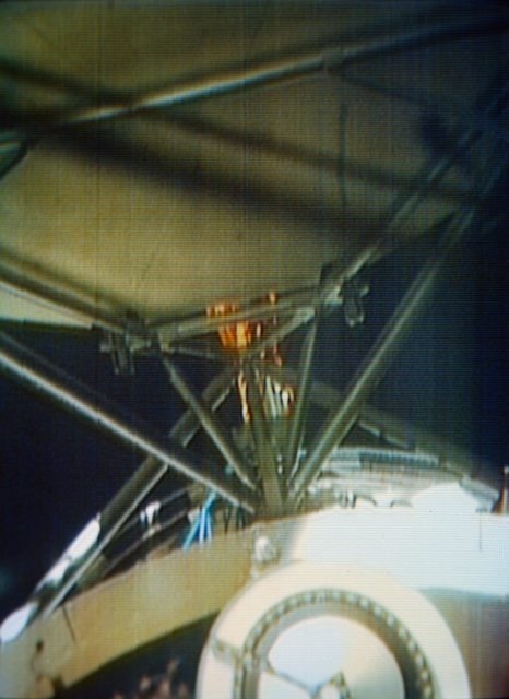 "Deployment of ""Parasol"" solar shield"