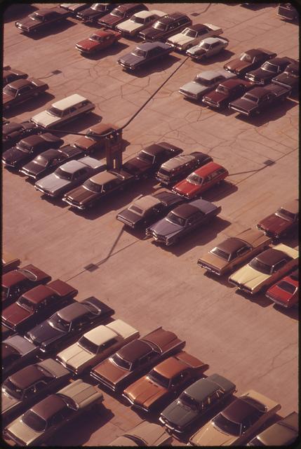 Parking Lot at Logan Airport