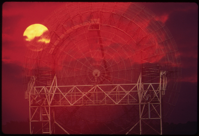 Radar Scanner Near Chesapeake Beach, August 1973