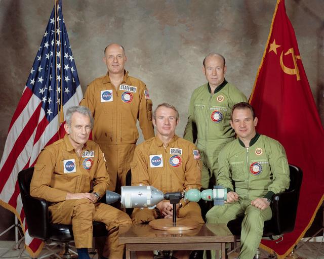 Apollo Soyuz Test Project Crew