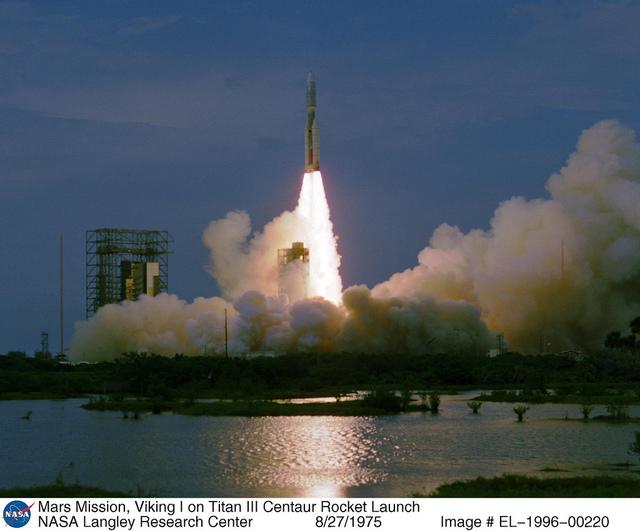 Mars Mission: Viking I on Titan III Centaur Rocket Launch