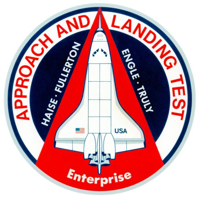 APPROACH & LANDING TEST (ALT) - SHUTTLE PATCH