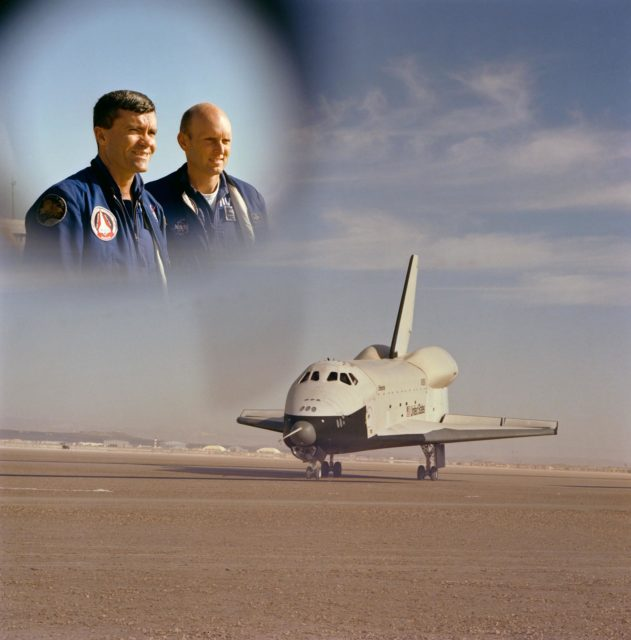 "third ""free flight"" of Shuttle Orbiter 101 Spacecraft"