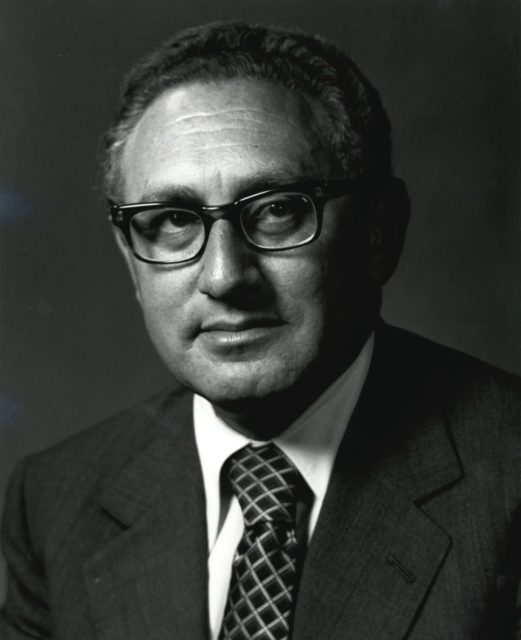 Kenry A. Kissinger, U.S. Secretary of State