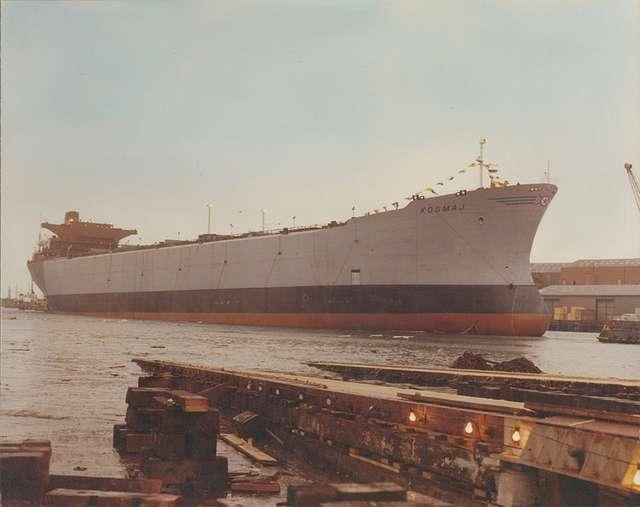 'Kosmaj' afloat after launch