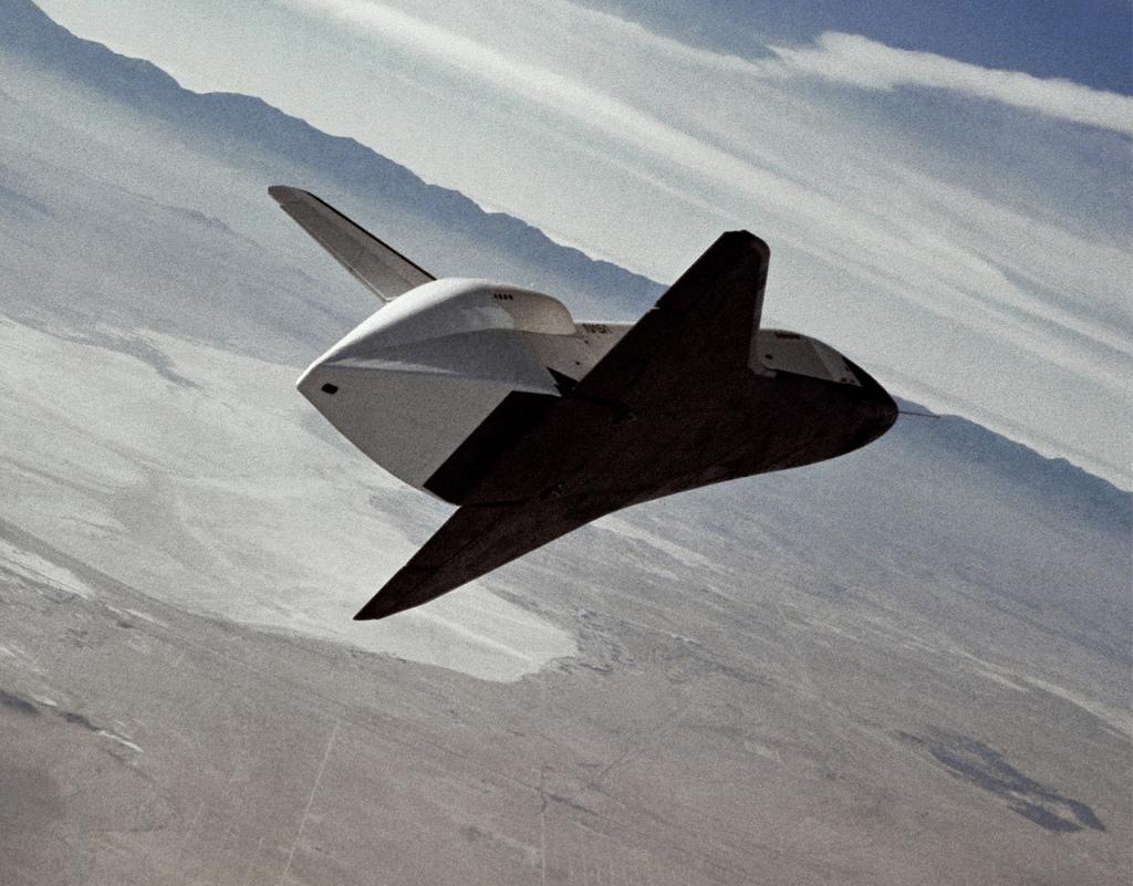 Shuttle Enterprise Free Flight