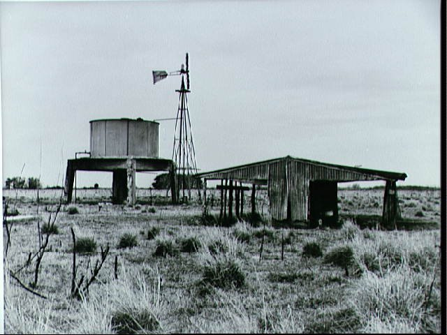 View of animal shelter and windmill on acreage designated for JSC
