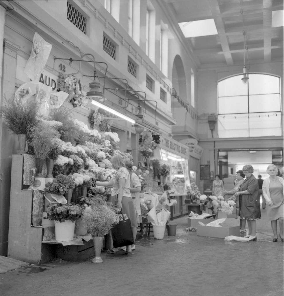 Flowers in the Grainger Market
