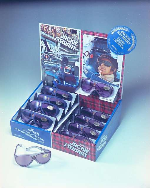 Jackie Stewart Sunglasses