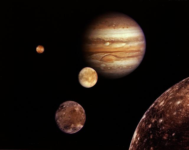 Jupiter System Montage