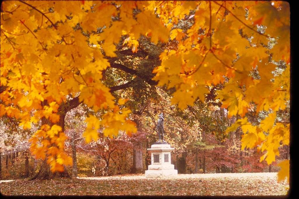 Views at Guilford Courthouse National Military Park, North Carolina