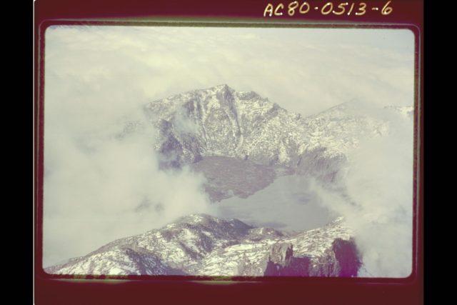 Mt. St. Helens Volcano - post eruption ARC-1980-AC80-0513-6