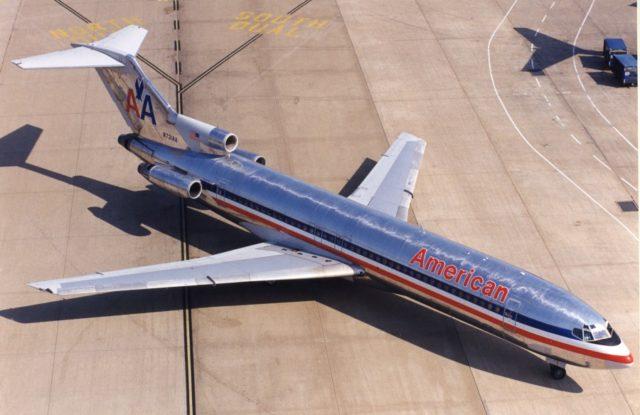 Boeing 727 N731AA American AL Dallas Love Field