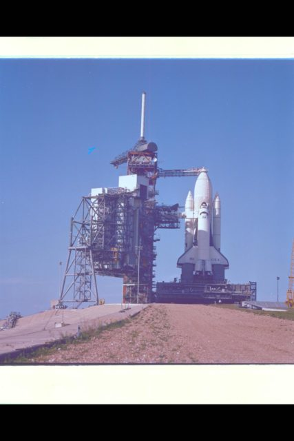 Space Shuttle Columbia Launch Preparation at NASA KSC (Kennedy Space Center) Ref: 108-KSC-81PC-98 ARC-1981-AC81-0365-2