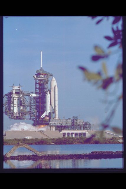 Space Shuttle Columbia Launch Preparation at NASA KSC (Kennedy Space Center) Ref: 108-KSC-81PC-455 ARC-1981-AC81-0365-5
