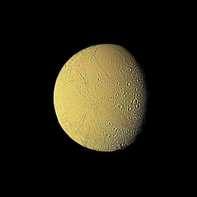 Saturnian moon Enceladus