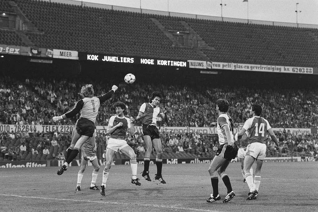 Voetbal Feyenoord tegen PSV 2-4