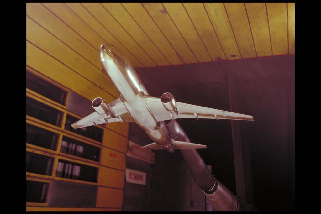 Boeing 767 NTF correlation test-611 11ft. w.t. ARC-1984-AC84-0561-1