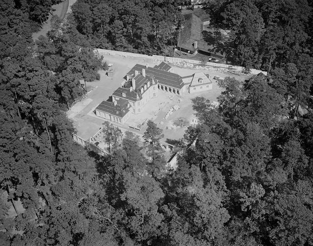 [Aerial View, Theodore Newton Law Residence, Houston, Texas ?]
