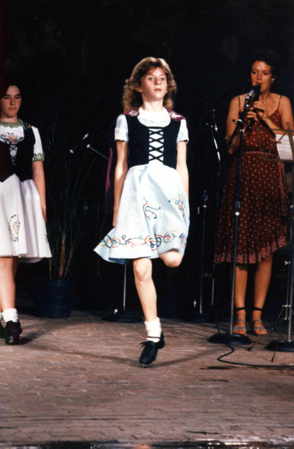 Irish step dance at the Florida Folk Festival: White Springs, Florida