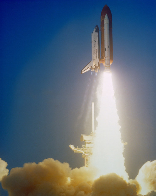 STS 41-C launch