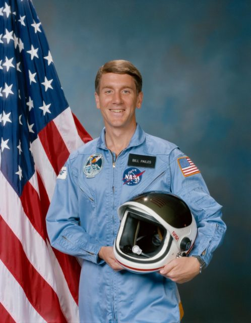 Official Portrait - Major William A. Pailes - STS 51J Payload Specialist