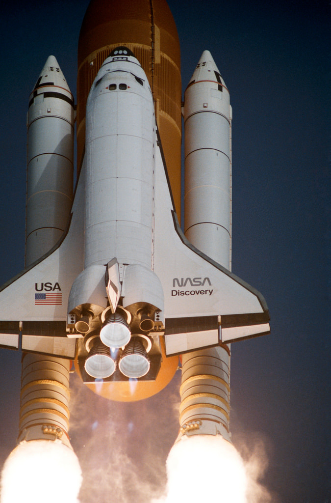 STS-51 G Launch