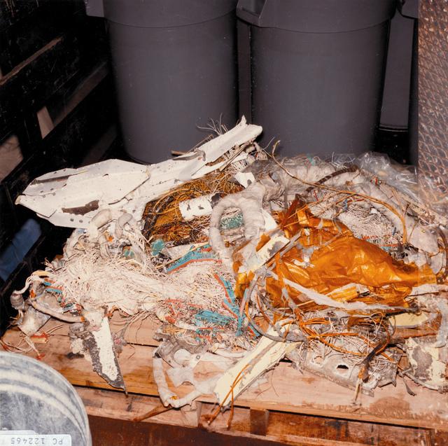 STS-51-L Recovered Debris (TDRS)