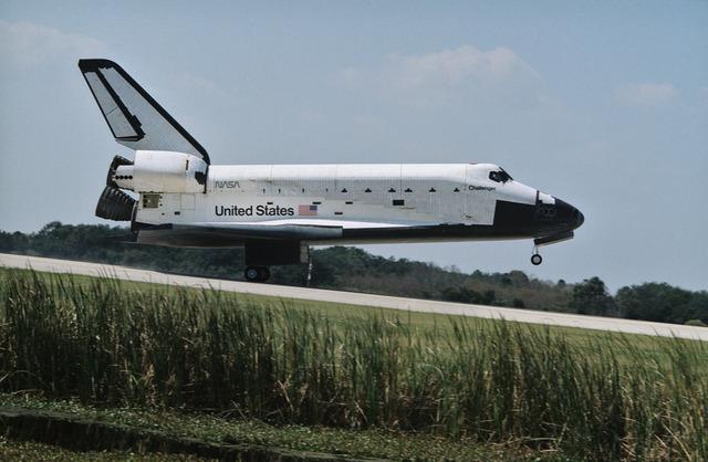 STS 41-G landing