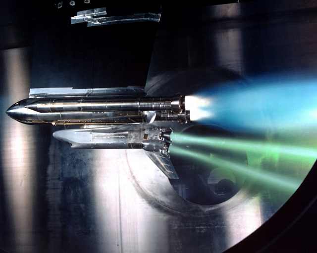 Shuttle Engine - Out Test