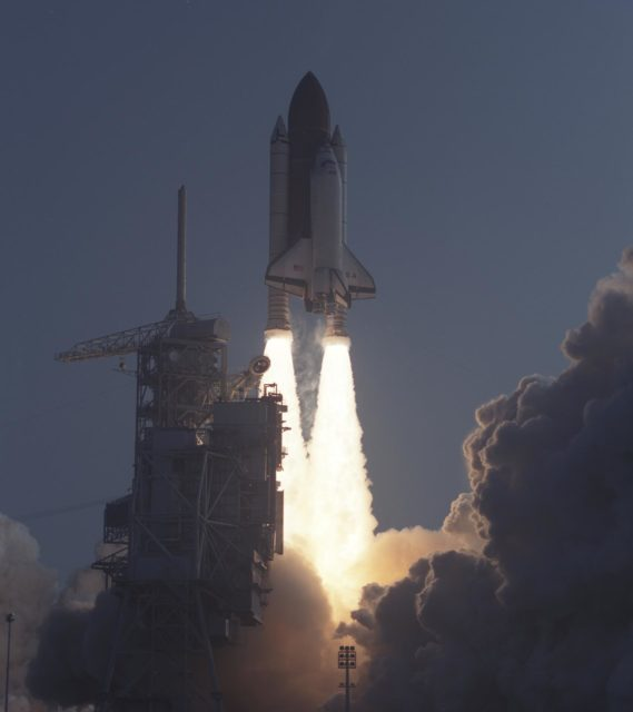 STS 28 - Space Shuttle Projects