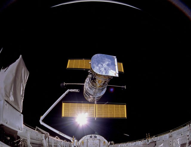 History of Hubble Space Telescope (HST)