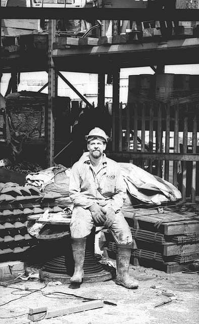 Worker at Westoe Colliery