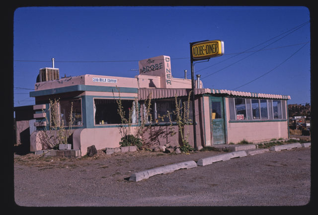 Adobe Diner, Route 64 & 285, Tres Piedras, New Mexico (LOC)