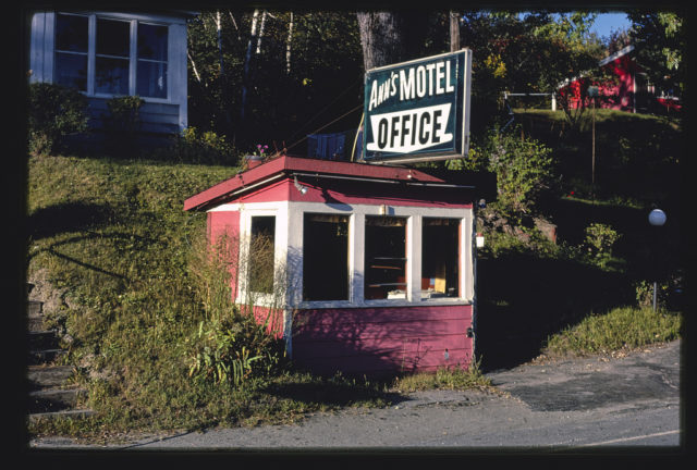 Ann's Motel Office, Barre, Vermont (LOC)
