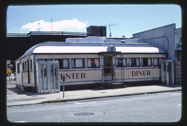 Central Diner, Bank Street, Poughkeepsie, New York (LOC)