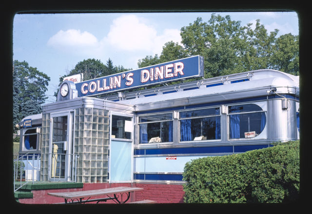 Collin's Diner, Route 7, Canaan, Connecticut (LOC)