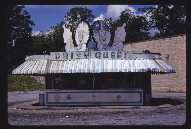Daisy Queen ice cream, N. Main Street, Greenville, South Carolina (LOC)