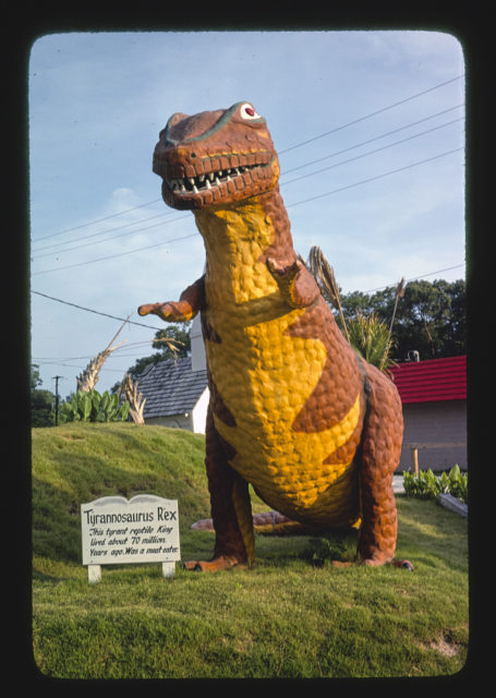 Dinosaur, Wacky Golf, Myrtle Beach, South Carolina (LOC)