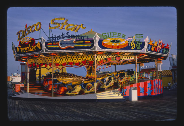 Disco star ride, Seaside Heights, New Jersey (LOC)
