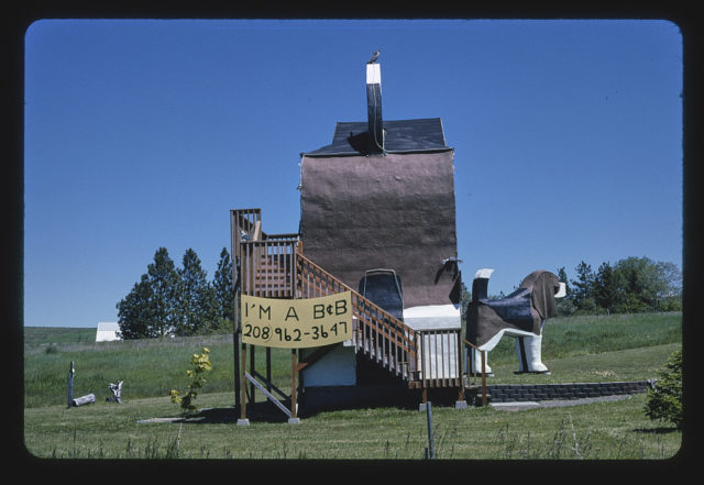 Dog Bark Park, Route 95, Cottonwood, Idaho (LOC)