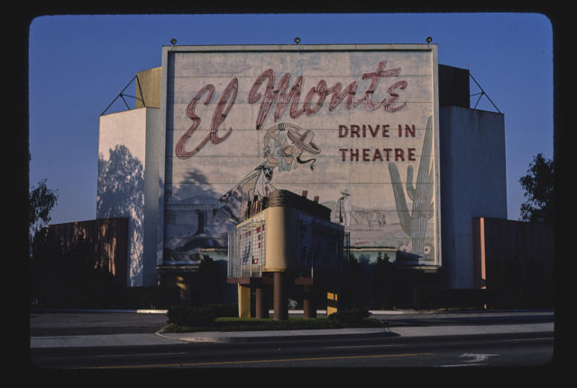 El Monte Drive-In Theater, Lower Azusa Road, El Monte, California (LOC)