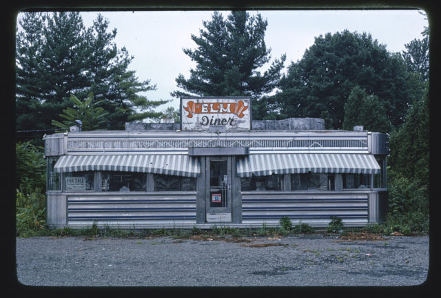 Elm Diner, Route 32, Kingston, New York (LOC)