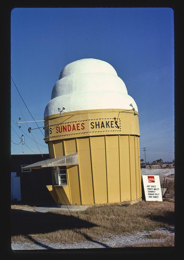 Ice cream stand, Long Beach, Florida (LOC)